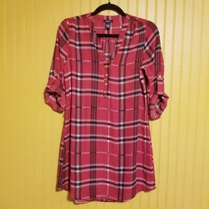 Rue21 Red Tee Shirt Dress Size Small